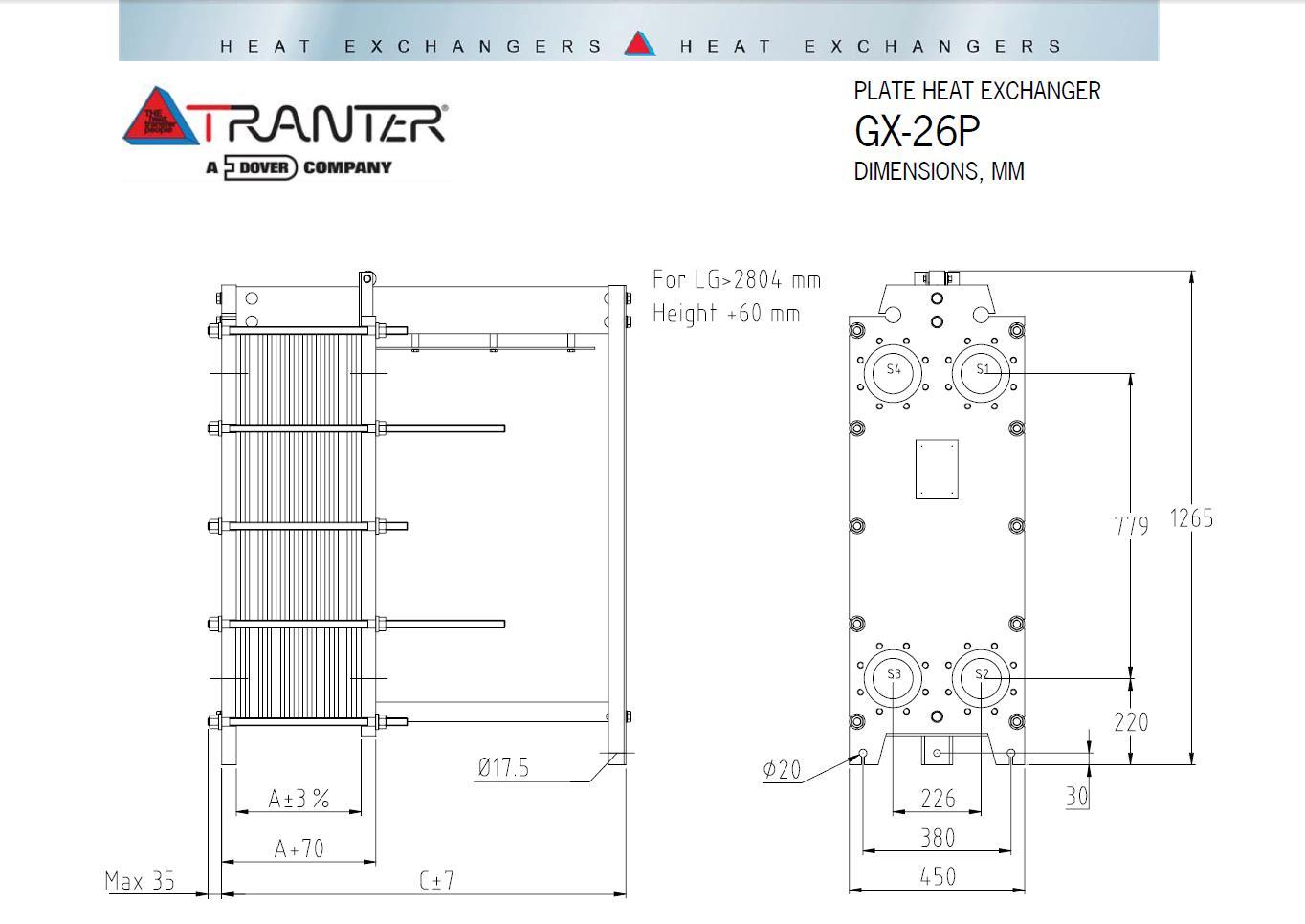 Tranter gx 26 Кожухотрубный конденсатор Alfa Laval CRF403-6-M 2P Набережные Челны