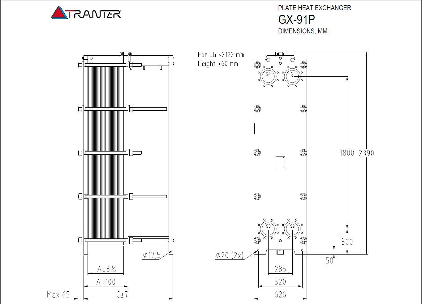 Пластинчатые теплообменники Danfoss серия XGF100-034H Таганрог